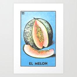 El Melon Art Print