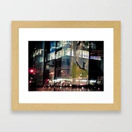 Urban reflection Framed Art Print