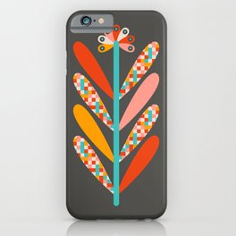 BLOOMS - DARK iPhone Case