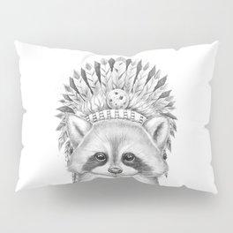 Raccoon apache Pillow Sham