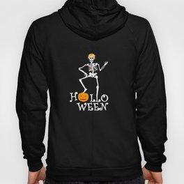Halloween Skeleton Party Trump Gift Idea Hoody