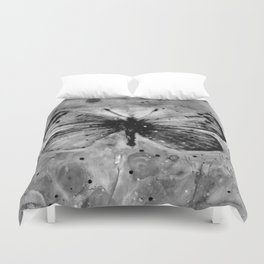 Butterfly Prayers No. 1L by Kathy Morton Stanion Duvet Cover