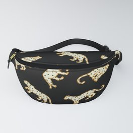 Leopard at Night Fanny Pack