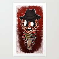 1, 2, Freddy's Coming for you Art Print