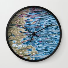 Colors Reflection Wall Clock