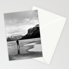 Lake Minnewanka Skate Stationery Cards