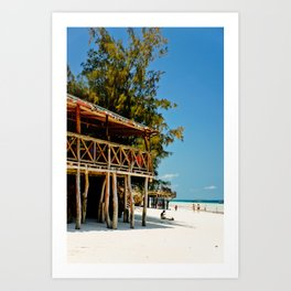 Wish you were here. Art Print