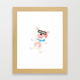 Naked Ted Framed Art Print