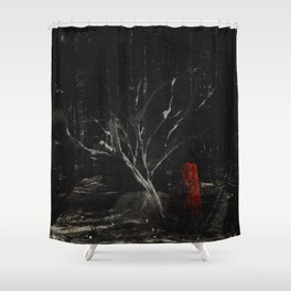 i am scarier than whatever is out here with me Shower Curtain
