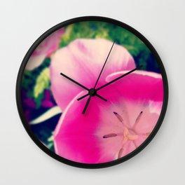 Timid Tulipa Wall Clock