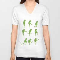 muppet V-neck T-shirts featuring Ministry of Silly Muppet Walks by 6amcrisis