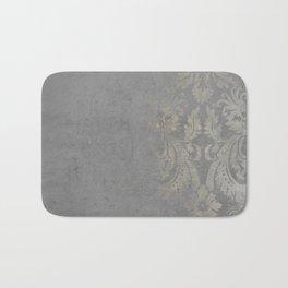 Grunge Damask Bath Mat
