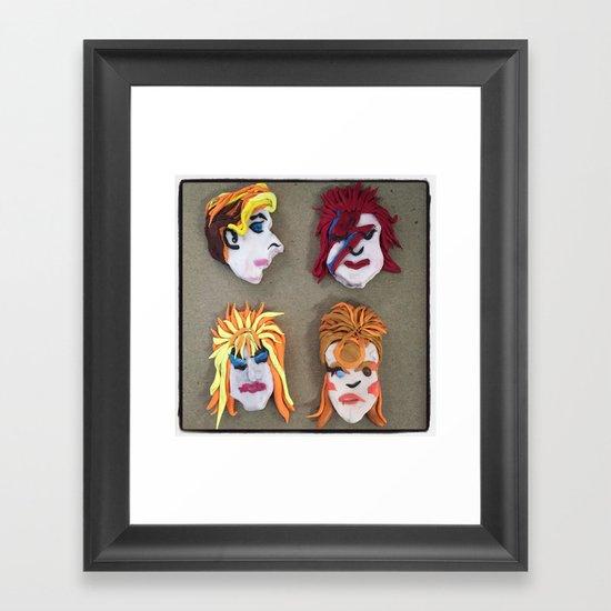 Bowie Lives! Framed Art Print