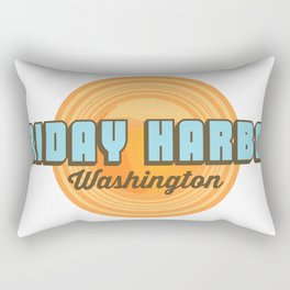 Friday Harbor. Rectangular Pillow