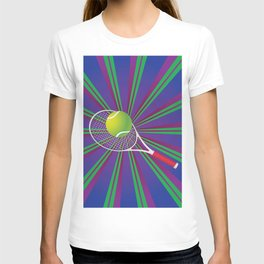 Tennis Ball and Racket T-shirt