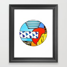 Terrene 2 Framed Art Print