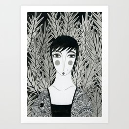 Ink 1 Art Print