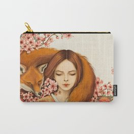 Red Fox - Totem Carry-All Pouch