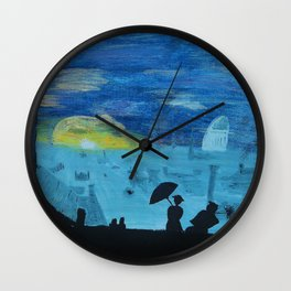 london view Wall Clock