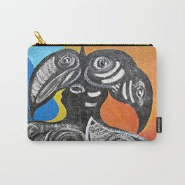 Two Toucans Carry-All Pouch