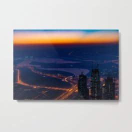 Dubai, The Rise Of Dubaï Metal Print