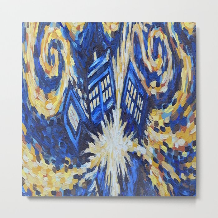 Dr Who Metal Print