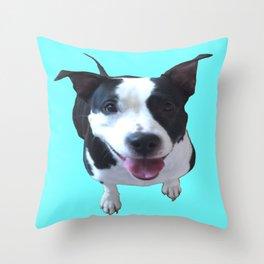 Tammy dog Throw Pillow