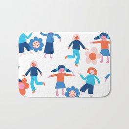 Dancing Women Bath Mat