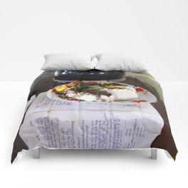 Buddist Food Offering Comforters