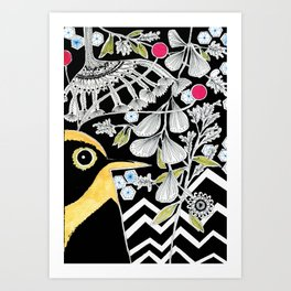 Mackie Art Print