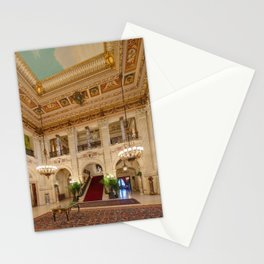 Newport Mansions, Rhode Island - The Breakers Grand Hall by Jeanpaul Ferro Stationery Cards