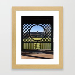 Autumn at the International Tennis Hall of Fame Framed Art Print