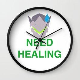 Need Healing genji Wall Clock