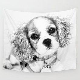 Playful Puppy Wall Tapestry