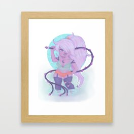 Whip You Into Shape Framed Art Print