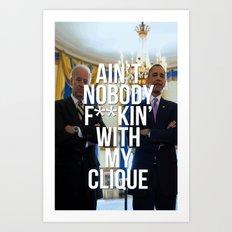 The Clique - '08-'16 Art Print