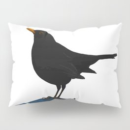Blackbird Vector Pillow Sham