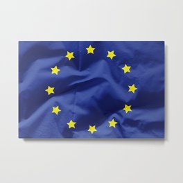 European union flag Metal Print
