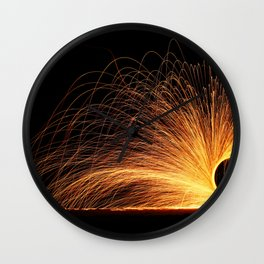 SACRED FIRE GODDESS Wall Clock