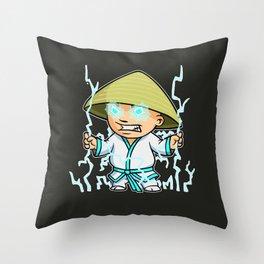 Little Lightning Throw Pillow