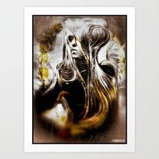dama_in_armi!!! Art Print