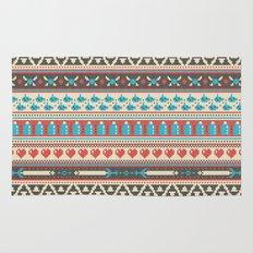 Fair-Hyle Knit Rug