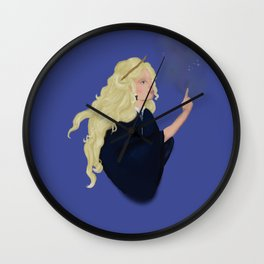 Luna and the Nargles Wall Clock