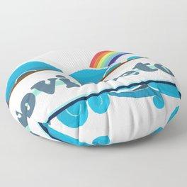 Provincetown - Cape Cod. Floor Pillow