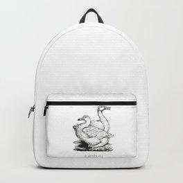 Aylesbury Duck | Animal Art Design Backpack