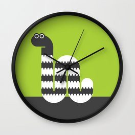 Imaginative Inch Worm Wall Clock