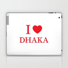 I Love Dhaka Laptop & iPad Skin