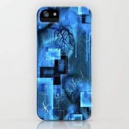 Trapped In This Space Between Here And There iPhone Case