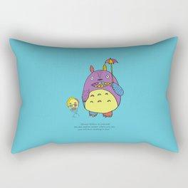 Guess who? Rectangular Pillow