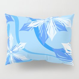 The Flower Abstract Holiday Pillow Sham